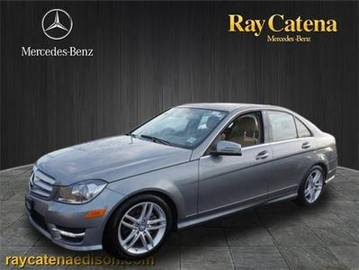 2012 Mercedes-Benz C-Class C300 Sedan for sale in Edison for $33,700 with 7,498 miles.