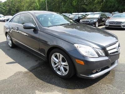2010 Mercedes-Benz E-Class E350 Coupe for sale in Charlotte for $28,449 with 58,165 miles.