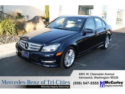 2013 Mercedes-Benz C-Class C300 Sedan for sale in Kennewick for $36,933 with 9,559 miles.