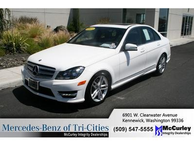 2013 Mercedes-Benz C-Class C300 Sedan for sale in Kennewick for $39,933 with 2,190 miles.