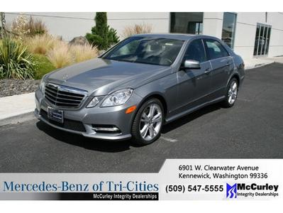2013 Mercedes-Benz E-Class E350 Sedan for sale in Kennewick for $45,933 with 15,401 miles.