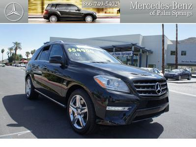 2012 Mercedes-Benz M-Class SUV for sale in Palm Springs for $54,900 with 29,785 miles.