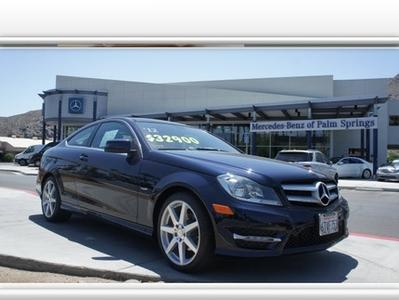 2012 Mercedes-Benz C-Class C250 Coupe for sale in Palm Springs for $32,900 with 20,045 miles.