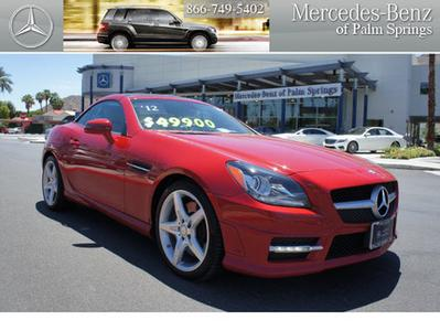 2012 Mercedes-Benz SLK-Class SLK350 Convertible for sale in Palm Springs for $49,900 with 17,543 miles.