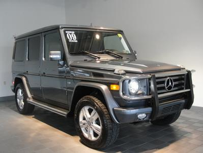 2009 Mercedes-Benz G-Class G550 4MATIC SUV for sale in Mechanicsburg for $75,991 with 36,125 miles.