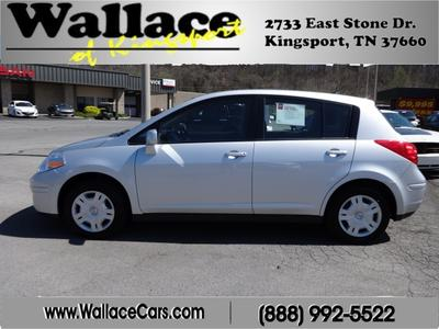 2011 Nissan Versa Hatchback for sale in Kingsport for $12,995 with 59,039 miles.