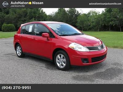2012 Nissan Versa 1.8 S Hatchback for sale in Jacksonville for $12,474 with 20,371 miles.
