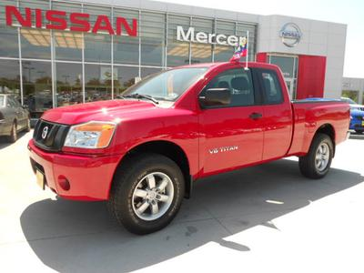 2012 Nissan Titan S Extended Cab Pickup for sale in Lufkin for $25,900 with 2,413 miles.