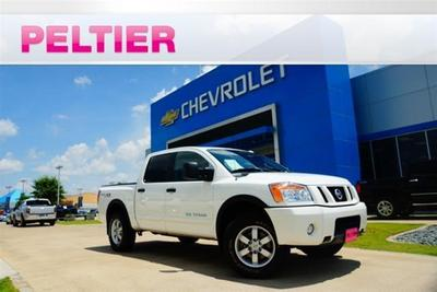 2012 Nissan Titan PRO-4X Crew Cab Pickup for sale in Tyler for $28,587 with 30,446 miles.