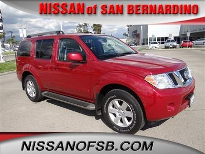 2012 Nissan Pathfinder SV SUV for sale in San Bernardino for $24,999 with 12,248 miles.