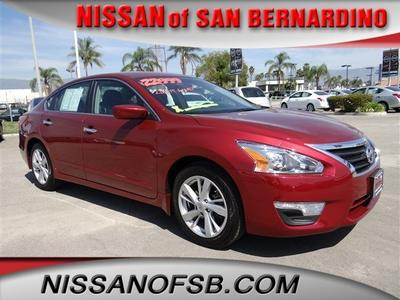 2013 Nissan Altima 2.5 SV Sedan for sale in San Bernardino for $21,998 with 4,774 miles.