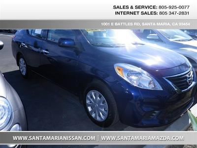 2014 Nissan Versa 1.6 S Sedan for sale in Santa Maria for $16,995 with 17,820 miles.
