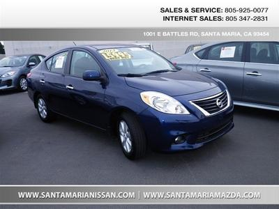 2013 Nissan Versa 1.6 S Sedan for sale in Santa Maria for $16,995 with 20,685 miles.