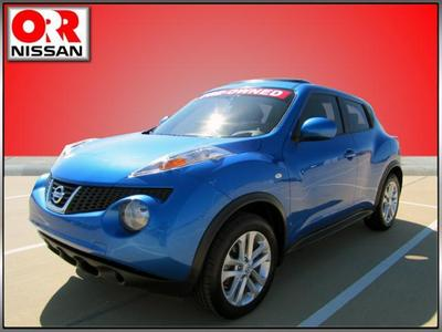 2011 Nissan Juke SV SUV for sale in Searcy for $18,609 with 56,455 miles.