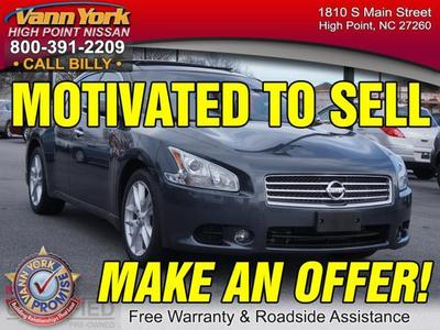 2011 Nissan Maxima S Sedan for sale in High Point for $24,947 with 32,194 miles.