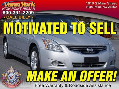 2012 Nissan Altima 2.5 S Sedan for sale in High Point for $19,947 with 43,435 miles.