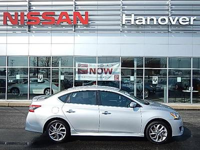 2013 Nissan Sentra SR Sedan for sale in Hanover for $16,999 with 1,542 miles.