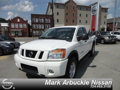 2011 Nissan Titan Pro-4X Extended Cab Pickup for sale in Indiana for $26,985 with 34,536 miles.