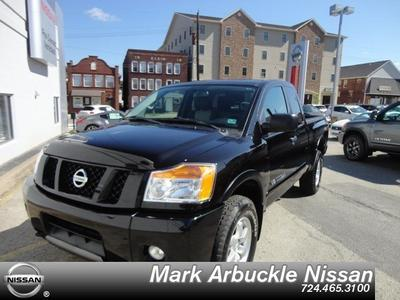 2012 Nissan Titan PRO-4X Extended Cab Pickup for sale in Indiana for $28,975 with 6,901 miles.