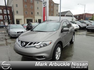 2012 Nissan Murano SL SUV for sale in Indiana for $26,975 with 47,269 miles.