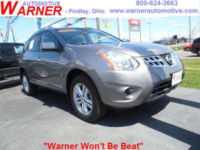2013 Nissan Rogue SV SUV for sale in Findlay for $23,478 with 4,391 miles.