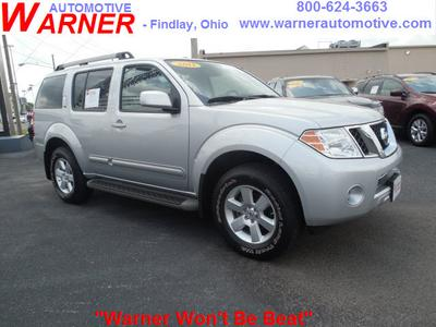 2011 Nissan Pathfinder S SUV for sale in Findlay for $23,967 with 40,878 miles.