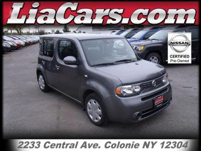 Nissan Cube From A Car Lot In Schenectady NY