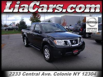 Nissan Frontier From A Car Lot In Schenectady NY