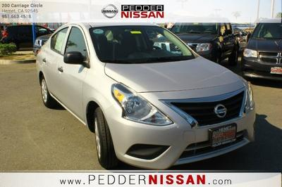 2015 Nissan Versa 1.6 S Sedan for sale in Hemet for $14,877 with 401 miles.