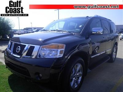 2012 Nissan Armada Platinum SUV for sale in Angleton for $35,592 with 25,072 miles.