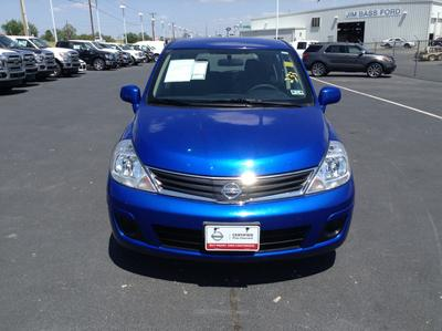 2011 Nissan Versa 1.8 S Hatchback for sale in San Angelo for $10,988 with 42,689 miles.