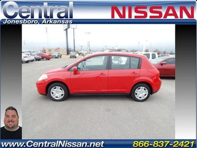 2011 Nissan Versa Hatchback for sale in Jonesboro for $11,990 with 54,744 miles.