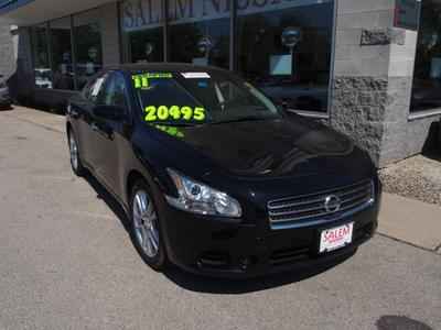 2011 Nissan Maxima S Sedan for sale in Salem for $20,495 with 44,842 miles.