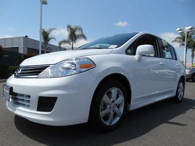 2012 Nissan Versa 1.8 SL Hatchback for sale in Escondido for $14,991 with 20,666 miles.