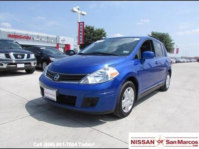 2012 Nissan Versa 1.8 S Hatchback for sale in San Marcos for $12,988 with 45,786 miles.