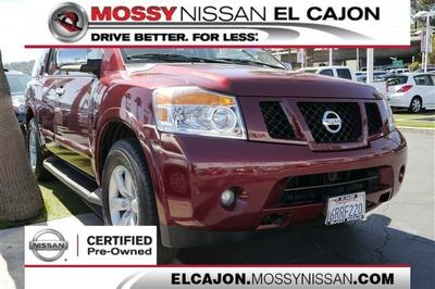 2011 Nissan Armada SV SUV for sale in El Cajon for $24,980 with 64,234 miles.