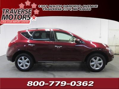 2009 Nissan Murano SUV for sale in Traverse City for $18,977 with 63,060 miles.