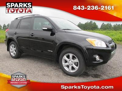 2011 Toyota RAV4 Limited SUV for sale in Myrtle Beach for $23,500 with 41,264 miles.