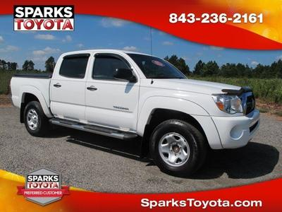 2011 Toyota Tacoma Double Cab Crew Cab Pickup for sale in Myrtle Beach for $26,900 with 35,421 miles.