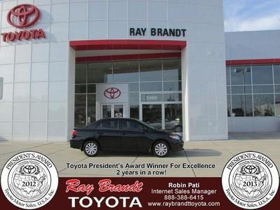 2013 Toyota Corolla Sedan for sale in Kenner for $17,100 with 10,520 miles.