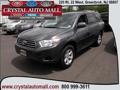 2010 Toyota Highlander SUV for sale in Green Brook for $21,799 with 61,262 miles.