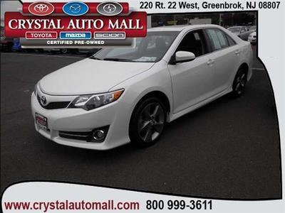 2012 Toyota Camry SE Limited Edition Sedan for sale in Green Brook for $22,499 with 24,419 miles.