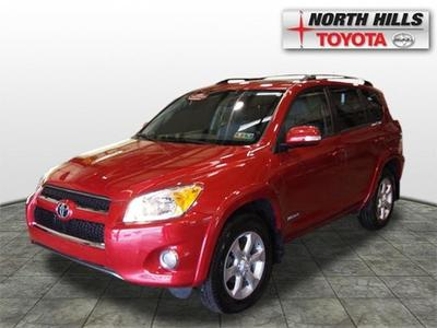 2012 Toyota RAV4 Limited SUV for sale in Pittsburgh for $26,720 with 23,327 miles.
