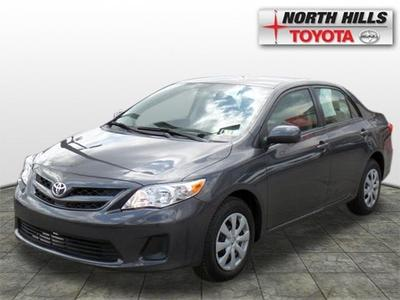 2011 Toyota Corolla LE Sedan for sale in Pittsburgh for $15,492 with 12,345 miles.