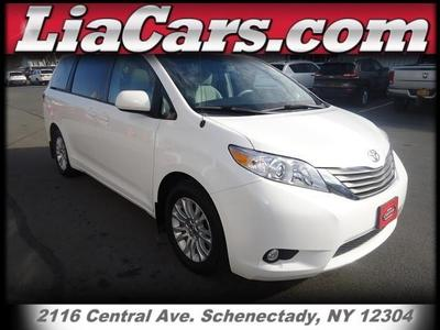Toyota Sienna From A Car Lot In Schenectady NY