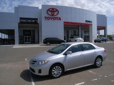 2012 Toyota Corolla LE Sedan for sale in Roswell for $15,500 with 20,214 miles.