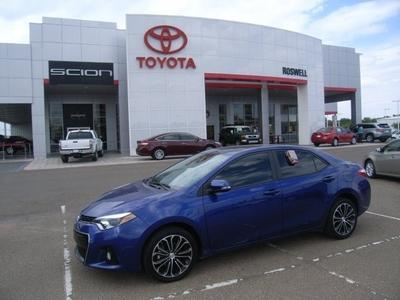 2014 Toyota Corolla S Plus Sedan for sale in Roswell for $21,500 with 12,370 miles.
