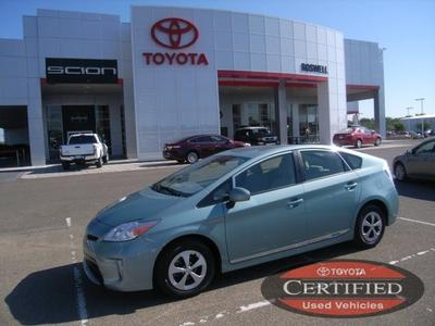 2013 Toyota Prius Hatchback for sale in Roswell for $21,500 with 23,760 miles.
