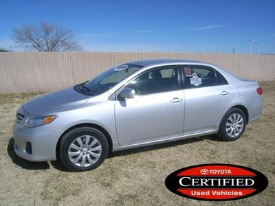 2013 Toyota Corolla Sedan for sale in Roswell for $18,500 with 30,958 miles.
