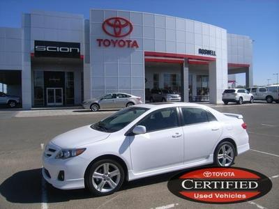 2013 Toyota Corolla Sedan for sale in Roswell for $18,500 with 19,107 miles.